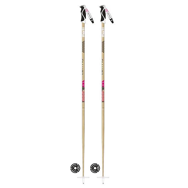 Kerma Elite Bamboo Womens Ski Poles 2018, , 600