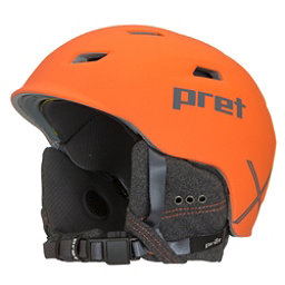 Pret Shaman X Helmet 2018, Rubber Pret Orange, 256