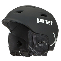Pret Shaman X Helmet 2018, Rubber Team Black, 256