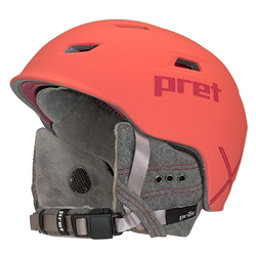 Pret Luxe X Womens Helmet 2018, Rubber Hot Coral, 256