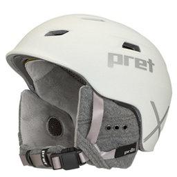 Pret Luxe X Womens Helmet 2018, Rubber Pearl Chalk, 256