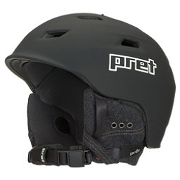 Pret Shaman Helmet 2018, Rubber Team Black, 256