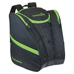 Transpack Cargo Ski Boot Bag 2018, Black-Lime Electric, 256
