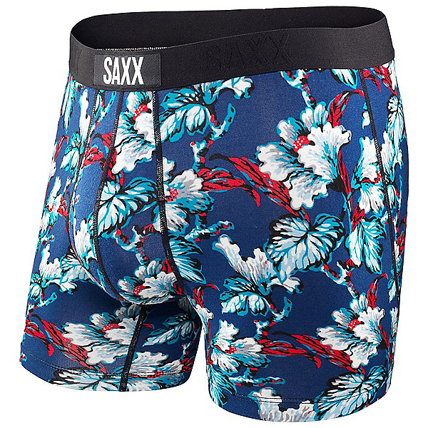 SAXX Ultra Boxer Fly, Navy Vintage Floral, 600