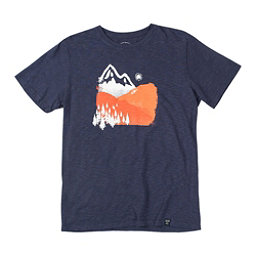 United By Blue Mountain Ink T-Shirt, Navy, 256