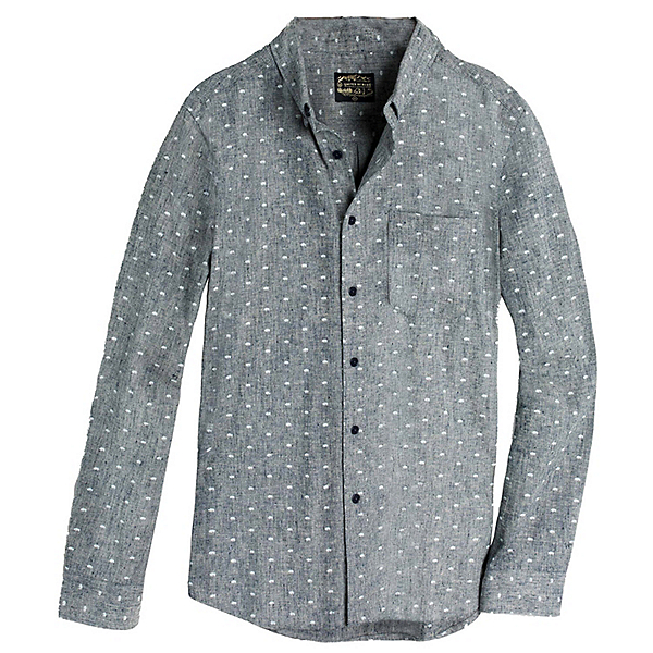 United By Blue Bison Print Mens Shirt, Navy, 600