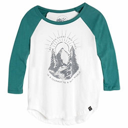 United By Blue 3/4 Two Pines Baseball Tee Womens Shirt, , 256
