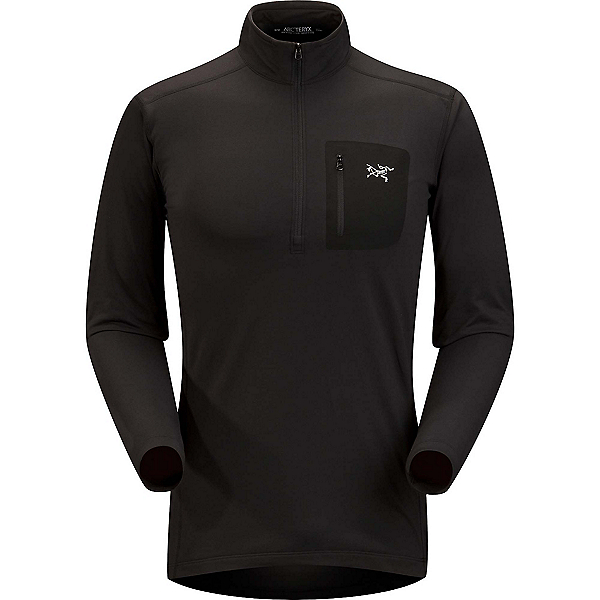 Arc'teryx RHO LT Zip neck Mens Long Underwear Top, , 600