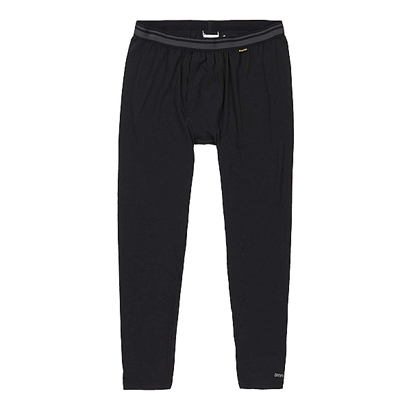 Burton Midweight Mens Long Underwear Pants, True Black, 600