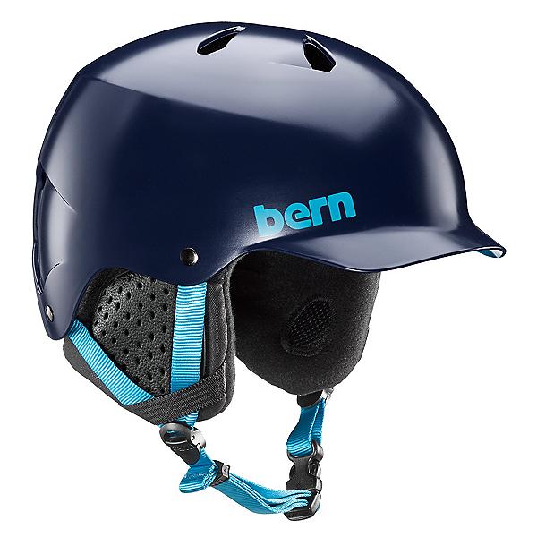 Bern Watts Helmet 2018, Satin Navy, 600