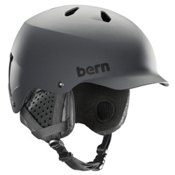 Bern Watts Helmet 2018, Matte Grey, medium