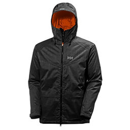 Helly Hansen Nelson Mens Insulated Ski Jacket, Ebony, 256