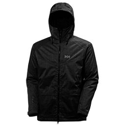 Helly Hansen Nelson Mens Insulated Ski Jacket, Black, 256