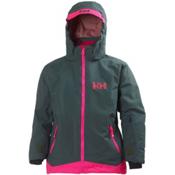 Helly Hansen Lousie Girls Ski Jacket, Rock, medium
