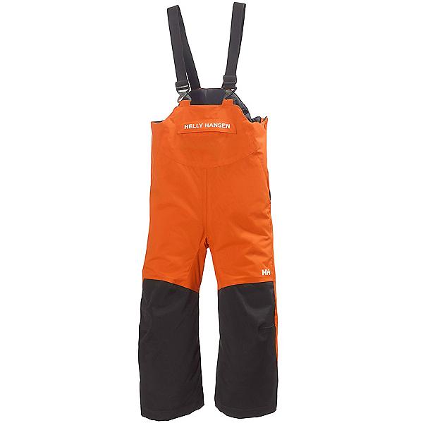 Helly Hansen Rider Insulated Bib Toddler Boys Ski Pants, Magma, 600