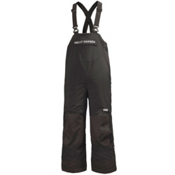 Helly Hansen Rider Insulated Bib Toddler Boys Ski Pants, Black, medium