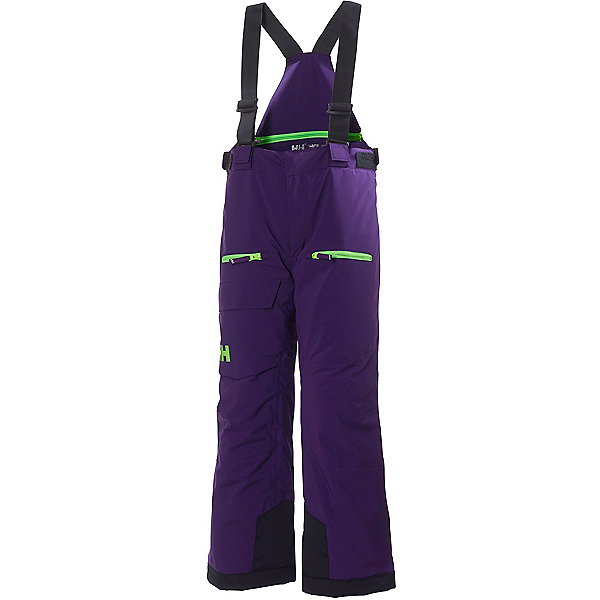 Helly Hansen Powder Boys Kids Ski Pants, Acai, 600