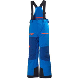 Helly Hansen Powder Boys Kids Ski Pants, Racer Blue, 256