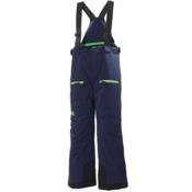 Helly Hansen Powder Boys Kids Ski Pants, Evening Blue, medium