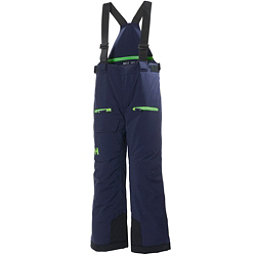 Helly Hansen Powder Boys Kids Ski Pants, Evening Blue, 256