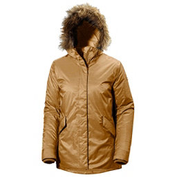 Helly Hansen Hilton 2 Parka w/Faux Fur Womens Jacket, Brunette Brown, 256
