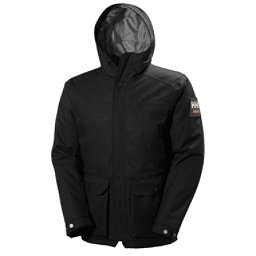Helly Hansen Brage Parka Mens Jacket, Black, 256