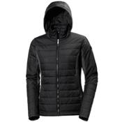 Helly Hansen Astra Hooded Womens Jacket, Black, medium