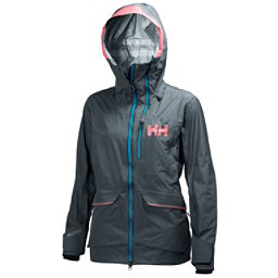 Helly Hansen Aurora Womens Shell Ski Jacket, Rock, 256