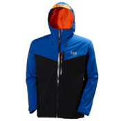 Helly Hansen Jutland Mens Insulated Ski Jacket, Classic Blue, medium