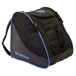 Sportube Traveler Ski Boot Bag 2018, Black-Glacier Blue, 256