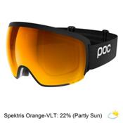 POC Orb Clarity Goggles 2018, Uranium Black-Spektris Orange, medium