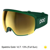 POC Orb Clarity Goggles 2018, Polydenum Green-Spektris Gold, medium