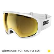 POC Foeva Clarity Goggles 2018, Hydrogen White-Spektris Gold + Bonus Lens, medium
