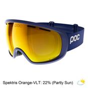 POC Foeva Clarity Goggles 2018, Basketane Blue-Spektris Orange + Bonus Lens, medium