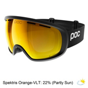 POC Foeva Clarity Goggles 2018, Uranium Black-Spektris Orange + Bonus Lens, medium