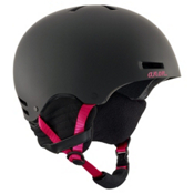 Anon Greta Womens Helmet 2018, Black Cherry, medium