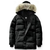 Canada Goose Carson Parka Mens Jacket, Black, medium