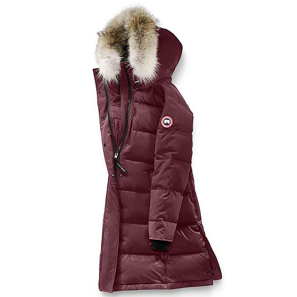 Canada Goose Rowley Parka Womens Jacket, Plum, 600