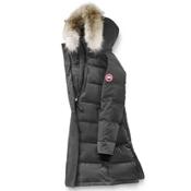 Canada Goose Rowley Parka Womens Jacket, Graphite, medium