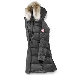 Canada Goose Rowley Parka Womens Jacket, Graphite, 256