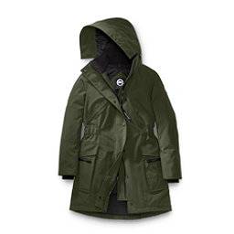 Canada Goose Kinley Parka Womens Jacket, Military Green, 256