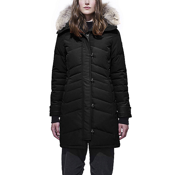 Canada Goose Lorette Parka Womens Jacket, Black, 600
