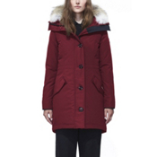 Canada Goose Rossclair Parka Womens Jacket, Red, medium