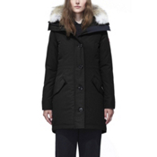 Canada Goose Rossclair Parka Womens Jacket, Black, medium