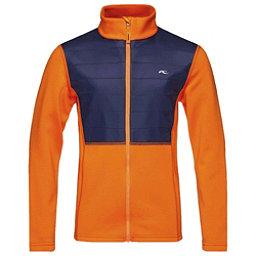 KJUS Charger Boys Midlayer Jacket, Kjus Orange-Atlanta Blue, 256