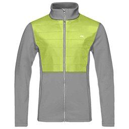 KJUS Charger Boys Midlayer Jacket, Steel Grey-Lime, 256