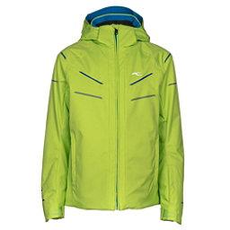 KJUS Formula DLX Boys Ski Jacket, Lime Green, 256