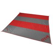 ENO Islander Blanket 2017, Red-Charcoal, medium