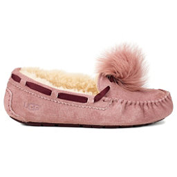 UGG Dakota Pom Pom Womens Slippers, Dusk, 256