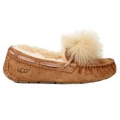 UGG Dakota Pom Pom Womens Slippers, Chestnut, medium